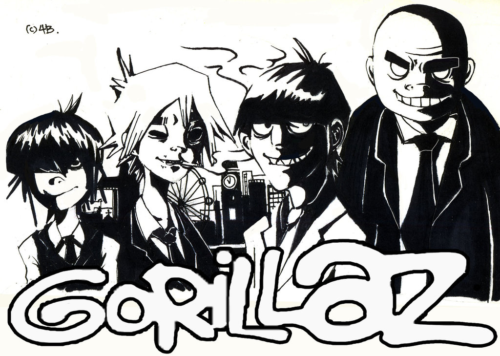 gorillaz_black_and_white_suit_by_berninsabi-d5tt6my