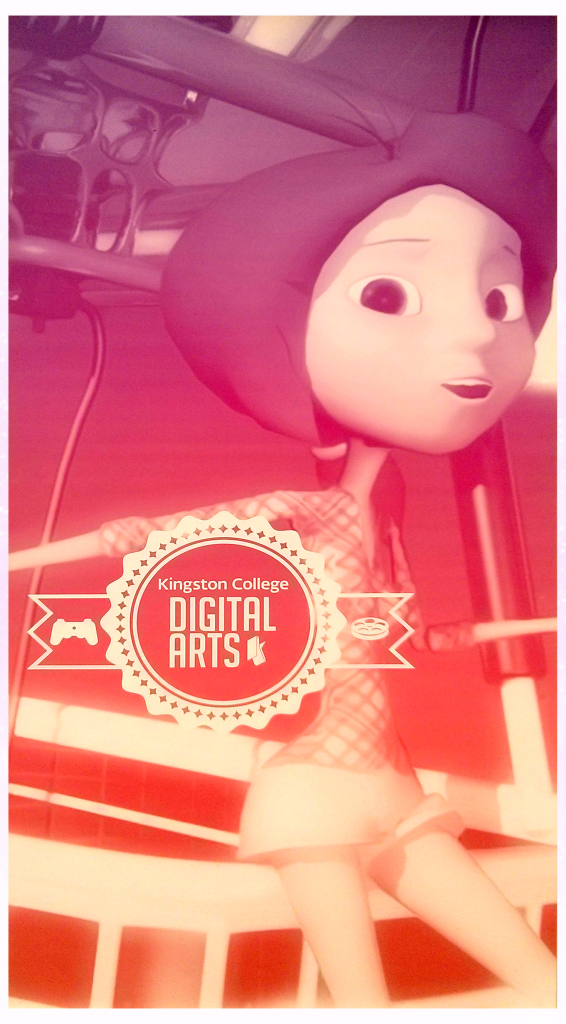 Digital arts poster